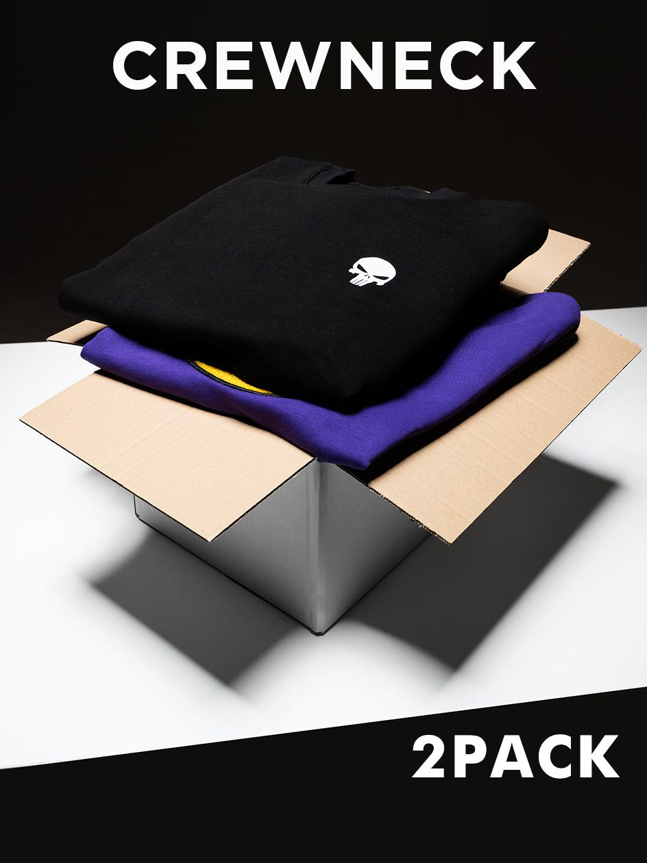 Zestaw 2 x Bluza Bez Kaptura Blind Box