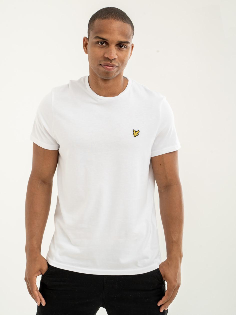Koszulka Z Krótkim Rękawem Lyle & Scott Plain Biała