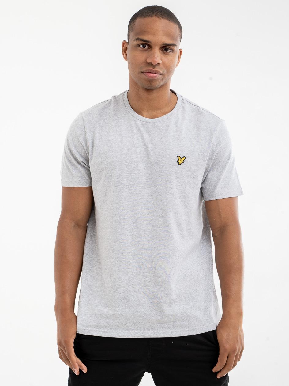 Koszulka Z Krótkim Rękawem Lyle & Scott Plain Szara