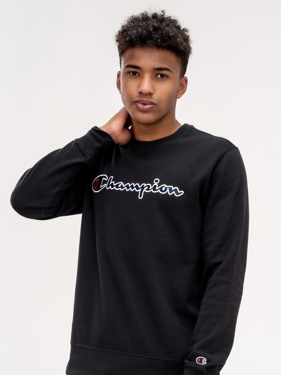 Bluza Bez Kaptura Champion Rochester Czarna