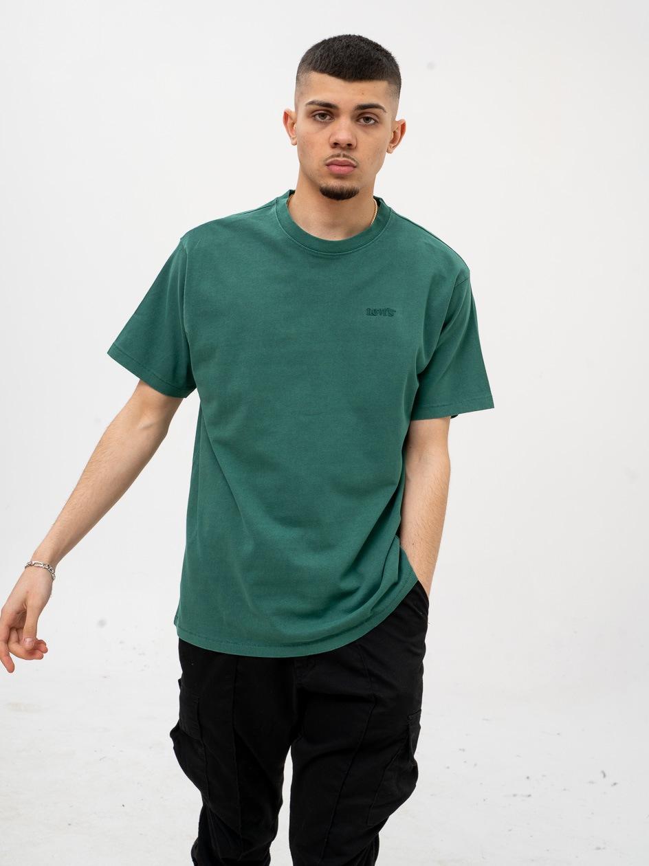 Koszulka Z Krótkim Rękawem Levis Vintage Zielona