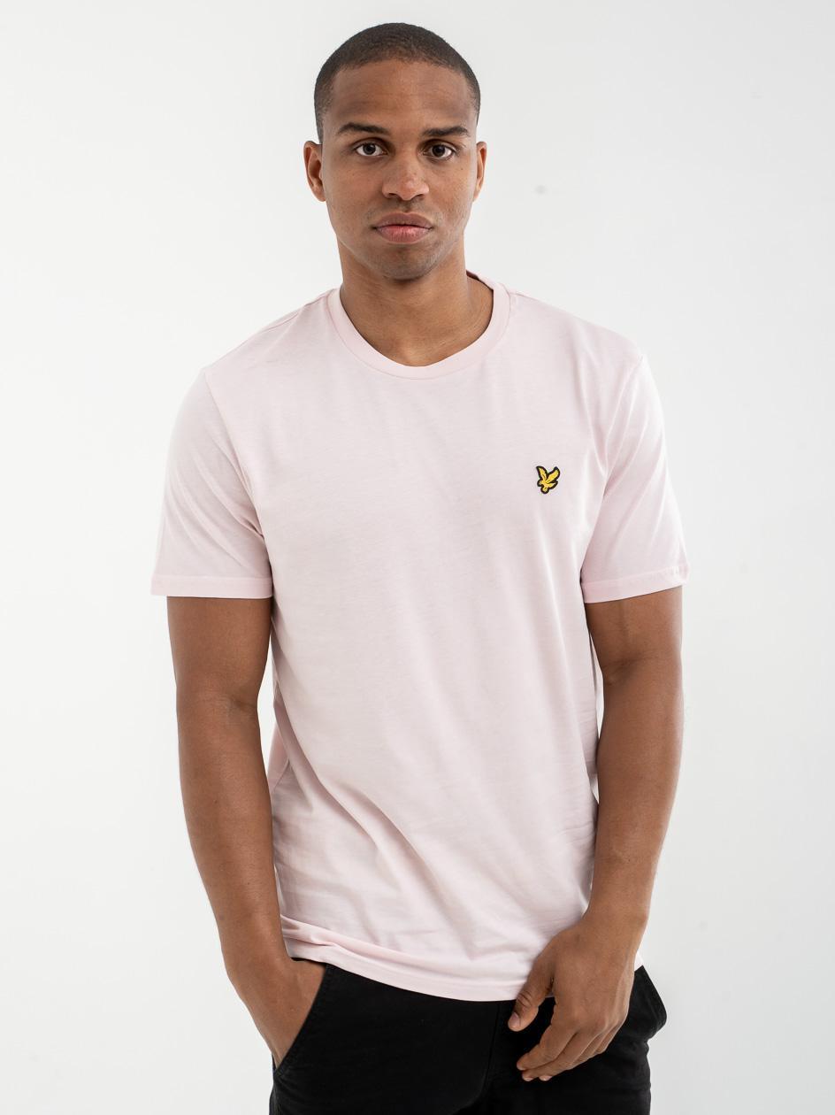 Koszulka Z Krótkim Rękawem Lyle & Scott Plain Różowa