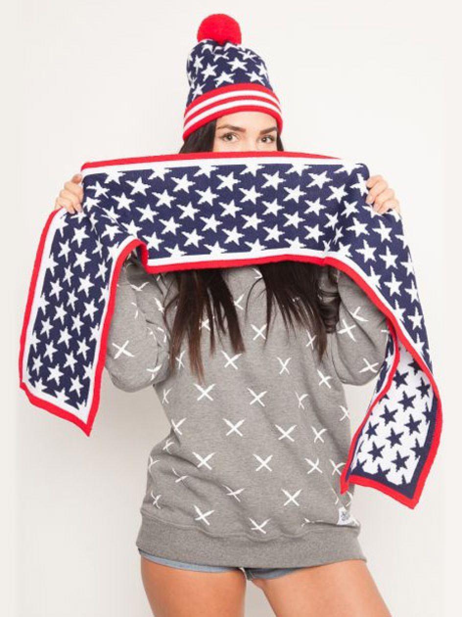 Amerikka Winter Scarf USA