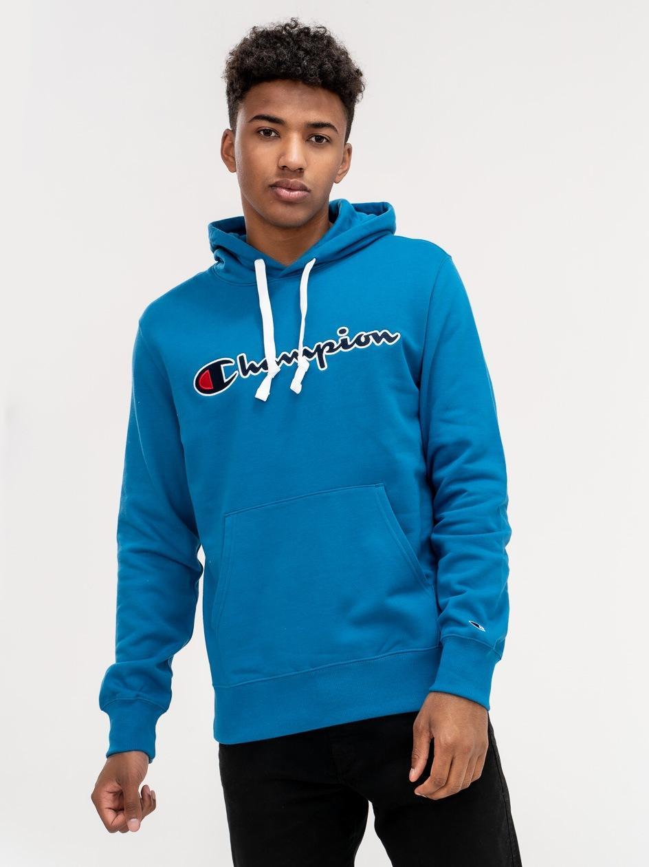 Bluza Z Kapturem Champion Rochester Niebieska