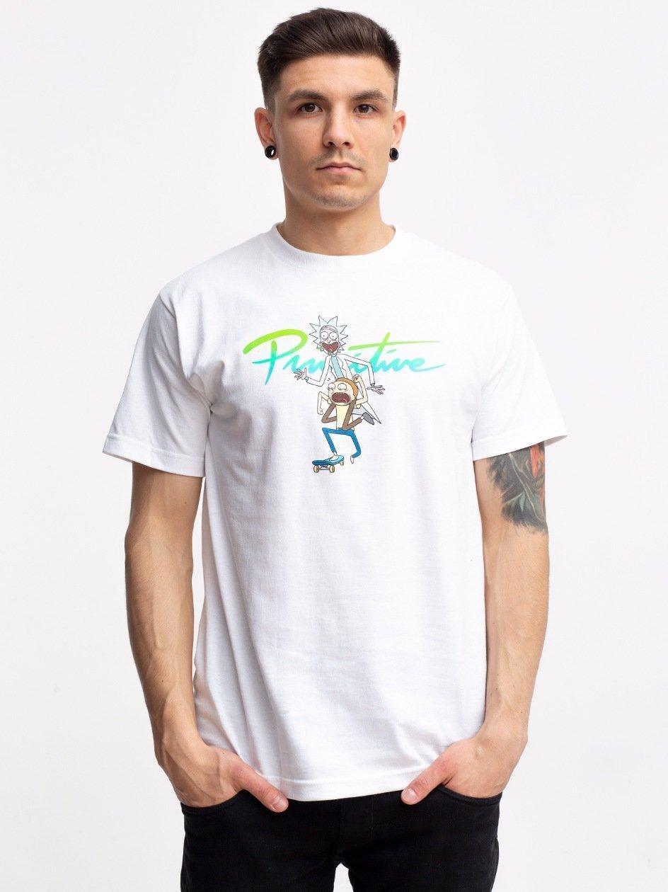 Nuevo RnM Skate Tee White