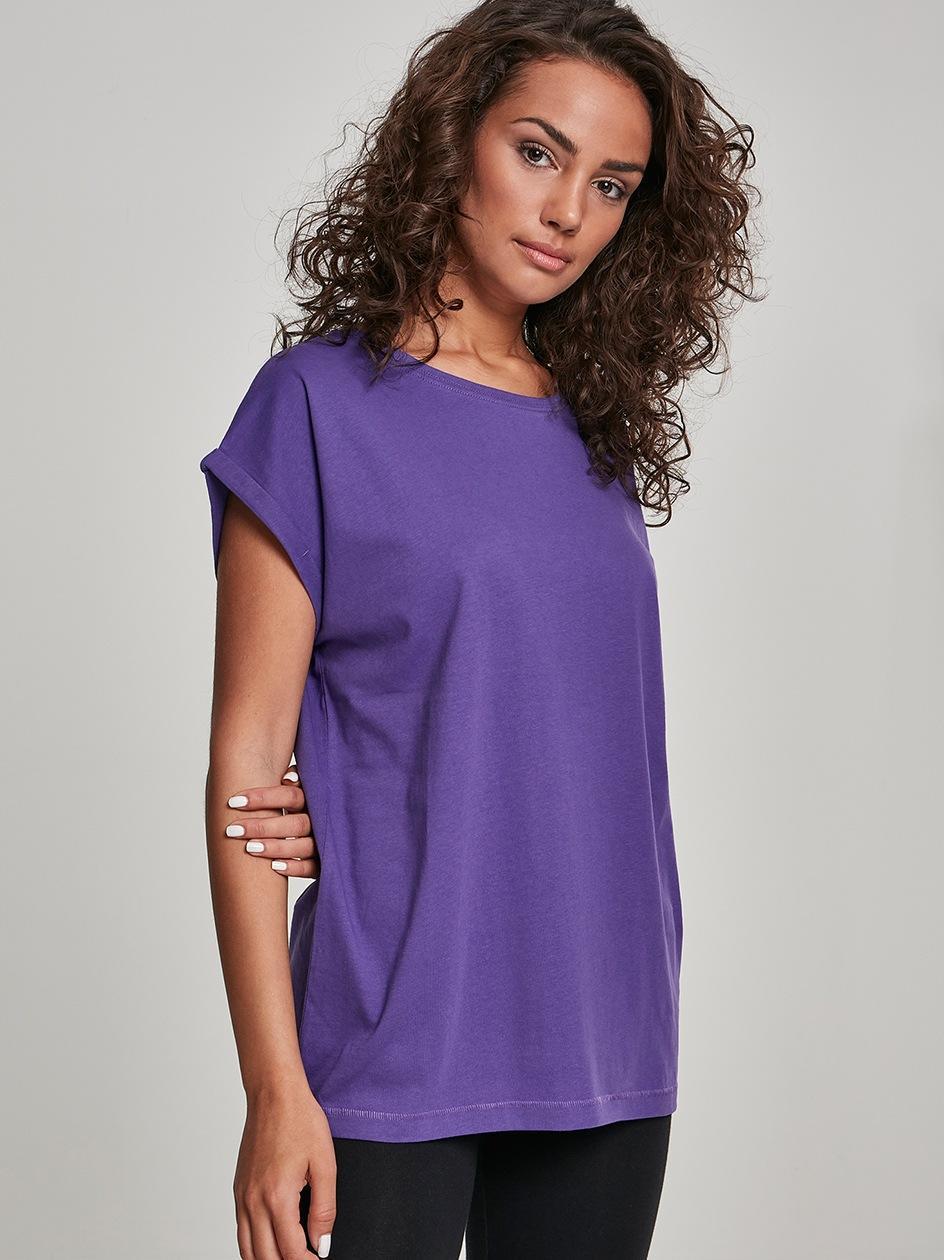 Damska Lużna Koszulka Z Krótkim Rękawem Urban Classics TB771 Ultrafioletowa