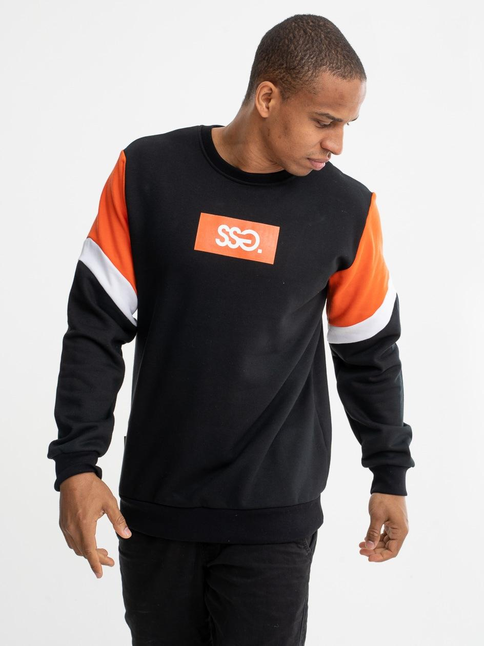 Bluza Bez Kaptura SSG Arm Cut Czarna