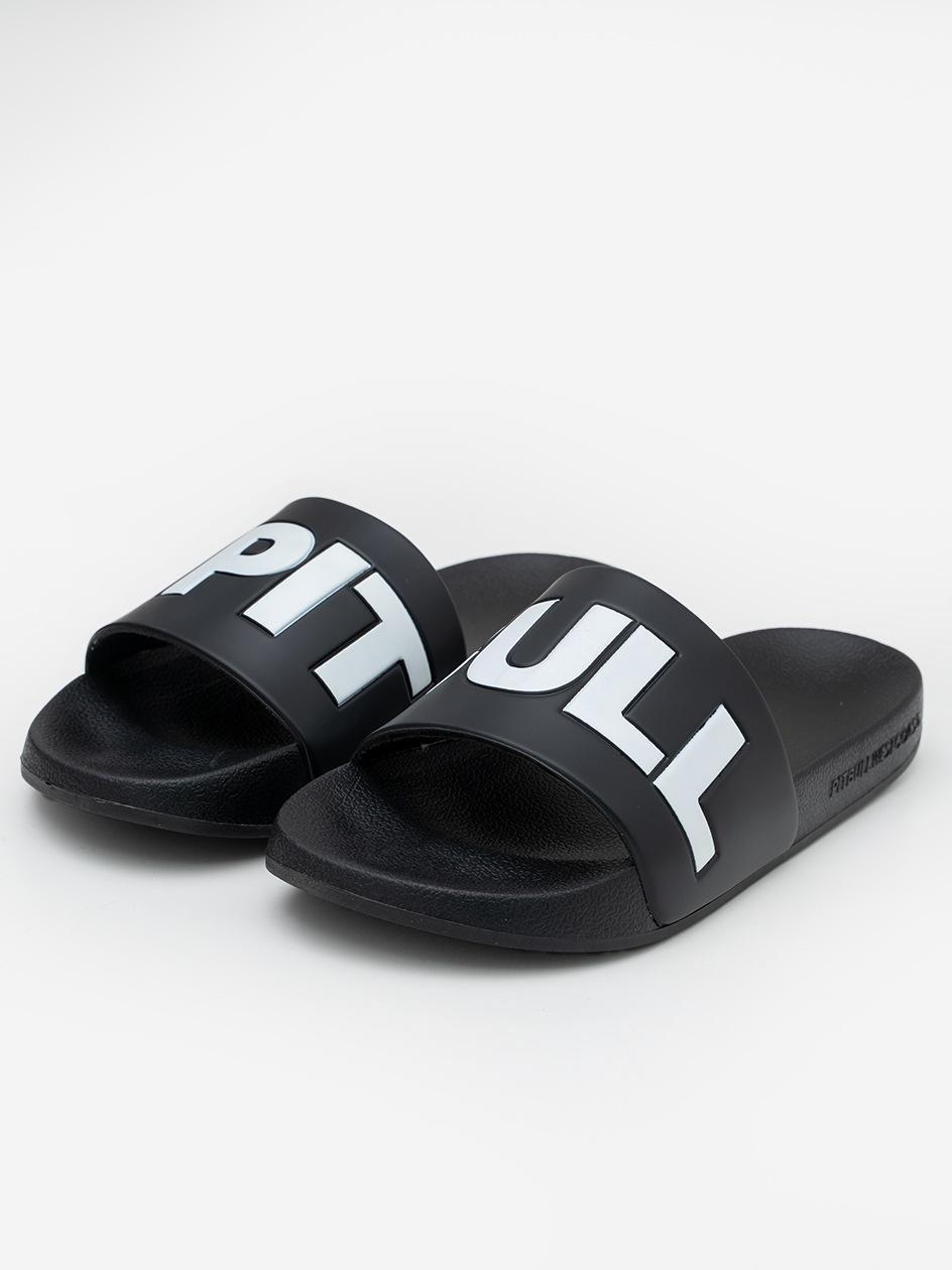 Klapki Pitbull West Coast Flip Flop Logo Czarne