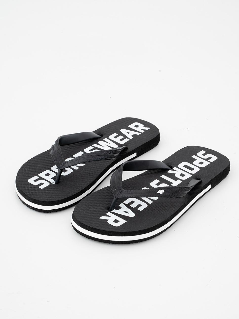 Klapki Japonki 4F Sportswear Czarne