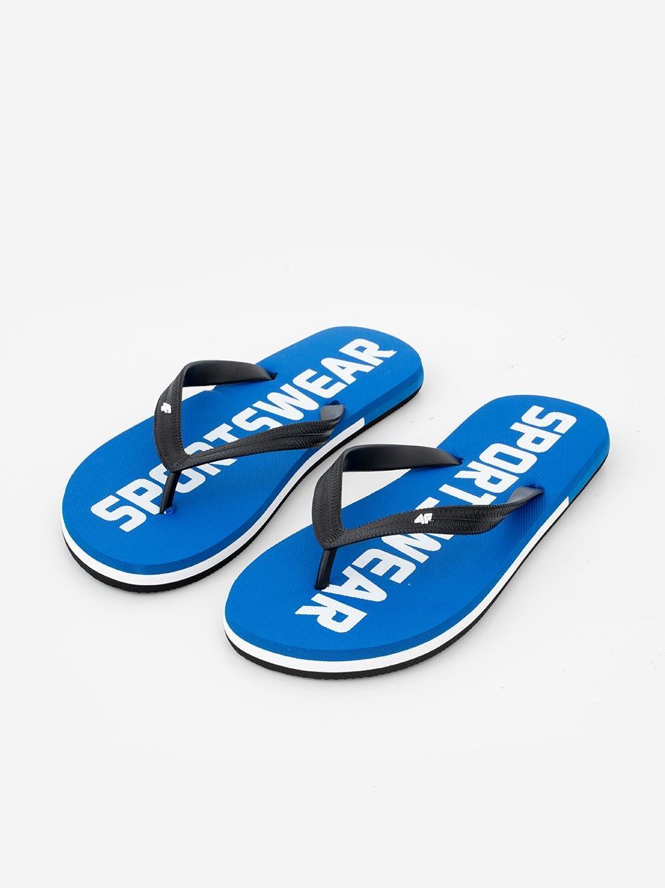Klapki Japonki 4F Sportswear Niebieskie
