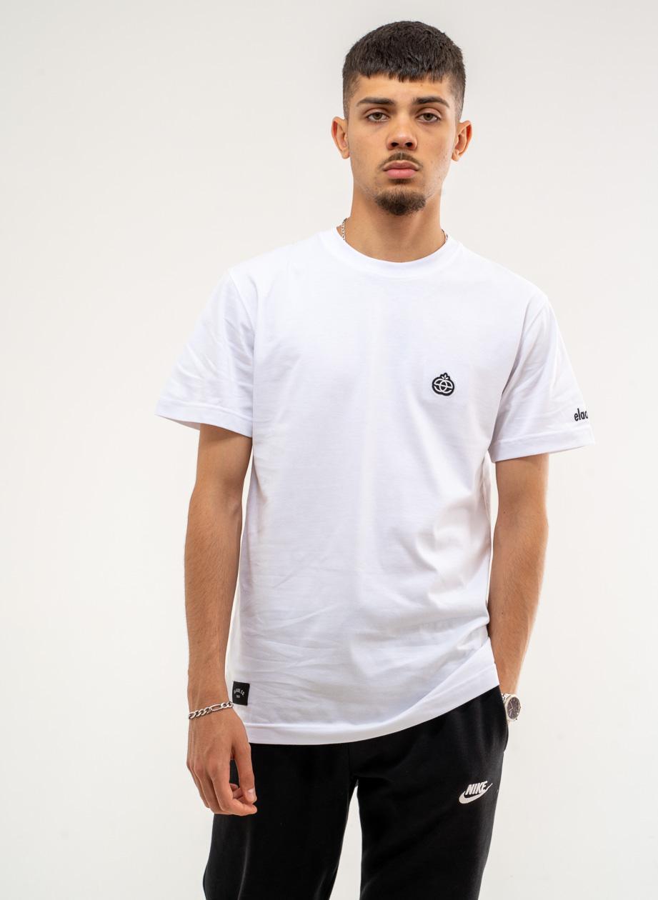 Koszulka Z Krótkim Rękawem Elade Icon Mini Logo Biała