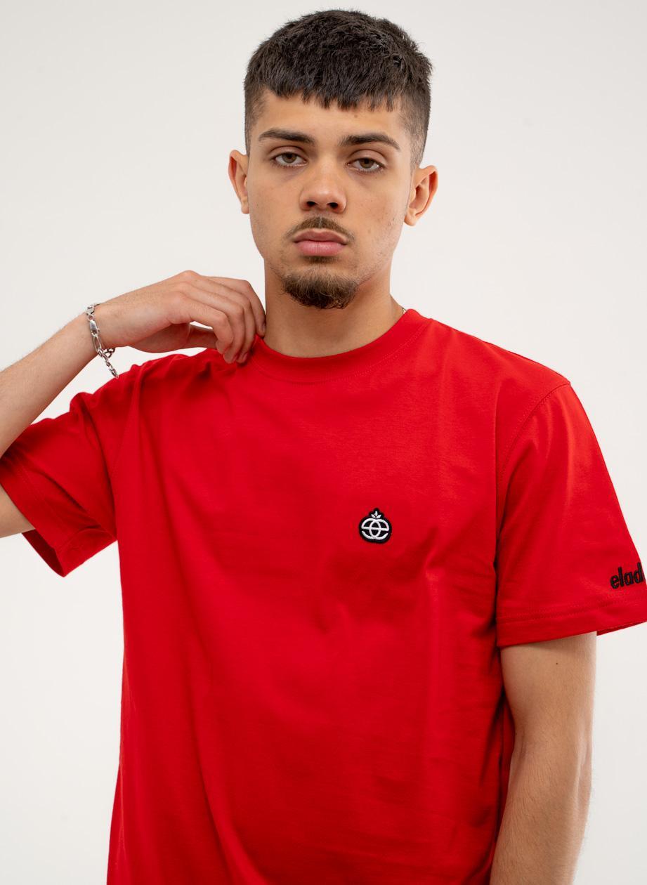 Koszulka Z Krótkim Rękawem Elade Icon Mini Logo Czerwona