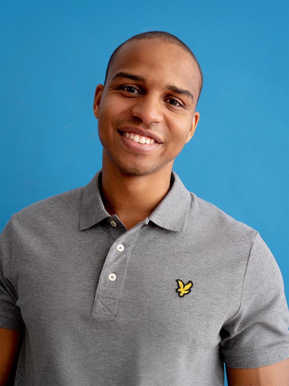 Koszulka Polo Z Krótkim Rękawem Lyle & Scott Plain Polo Shirt Szara
