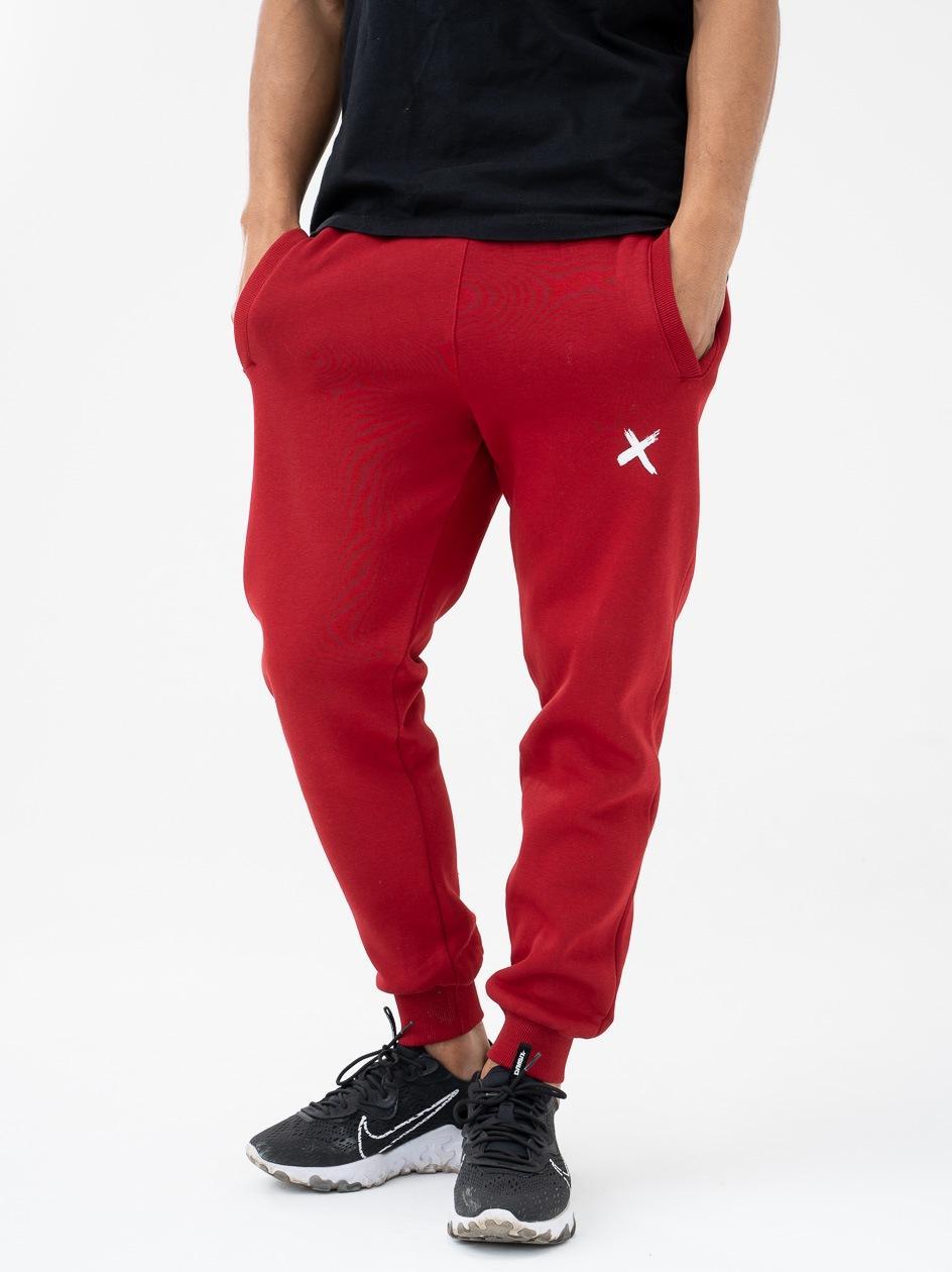 Spodnie Dresowe Point X Mini X Bordowe