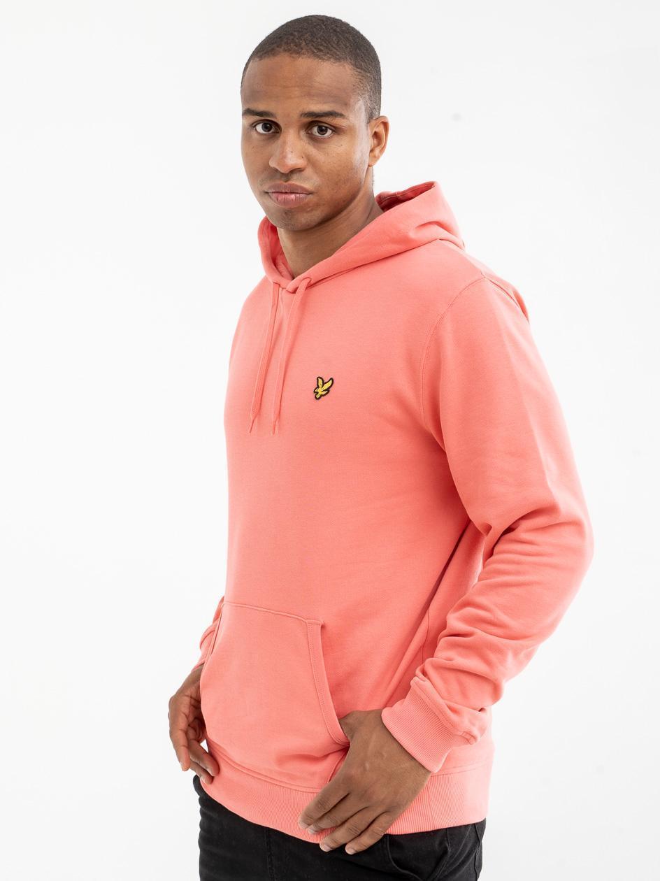 Bluza Z Kapturem Lyle & Scott Pullover Różowa