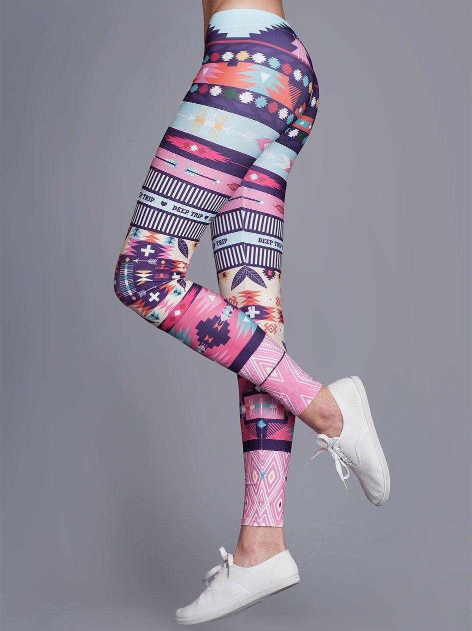 Lukier High Leggings Multicolor