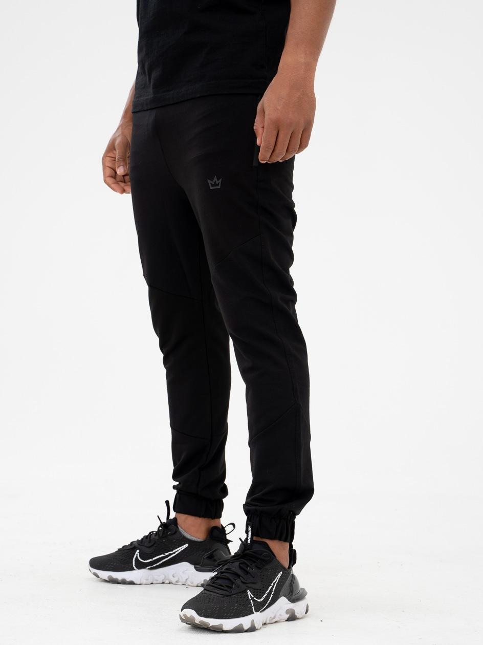 Spodnie Dresowe Breezy King Logo Czarne