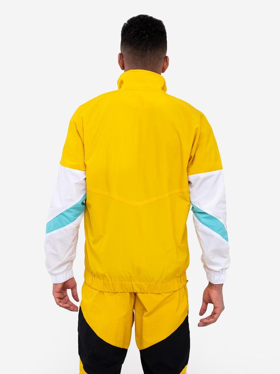 Bluza Rozpinana Z Ortalionu Plus Eighteen Square Żółta