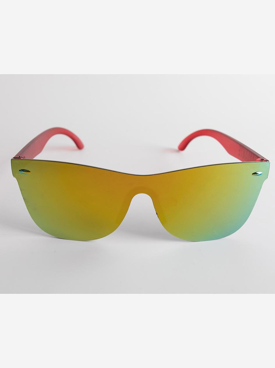 Okulary Przeciwsłoneczne Diamante Wear Sunflower Czerwone Mirror