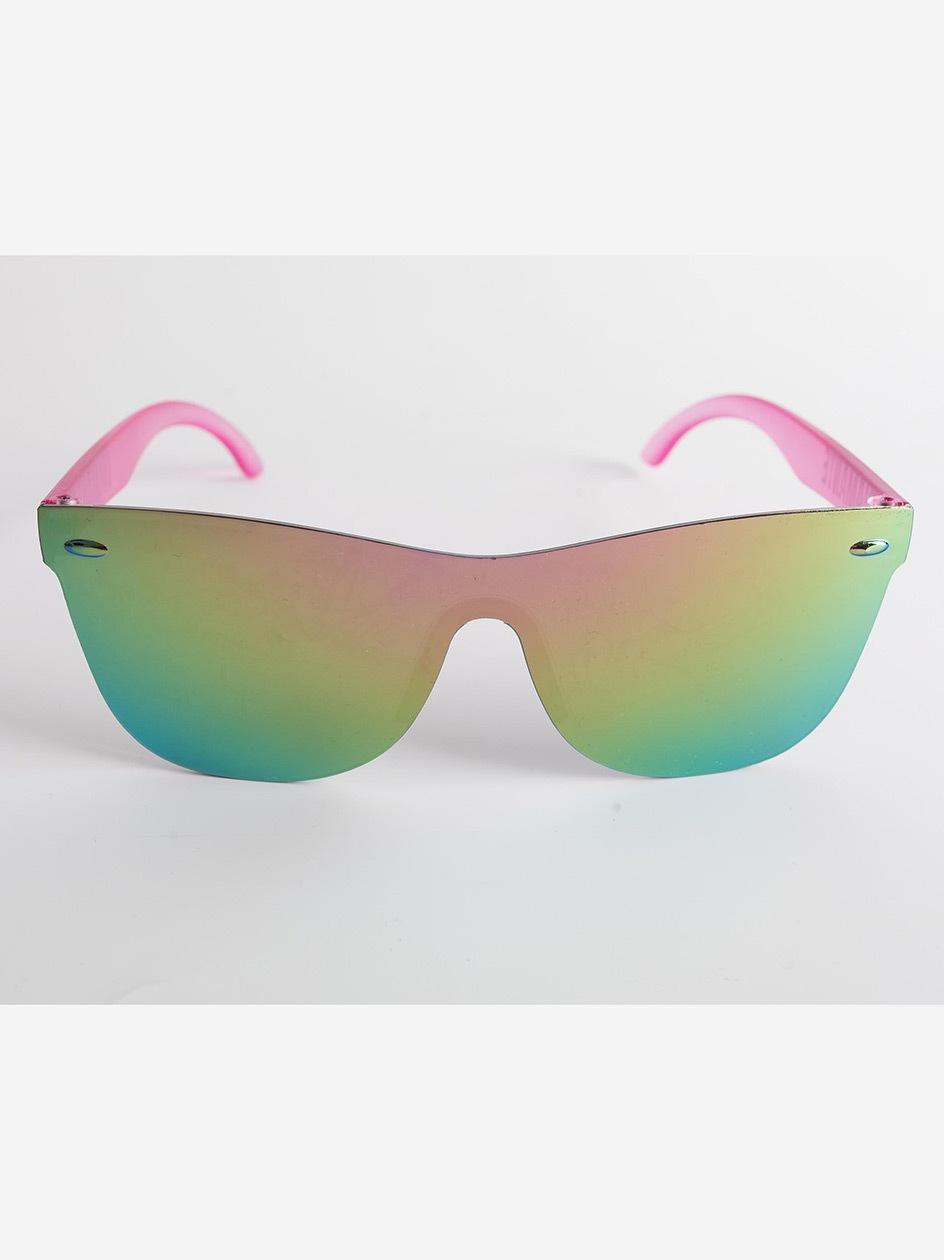 Okulary Przeciwsłoneczne Diamante Wear Sunflower Różowe Mirror