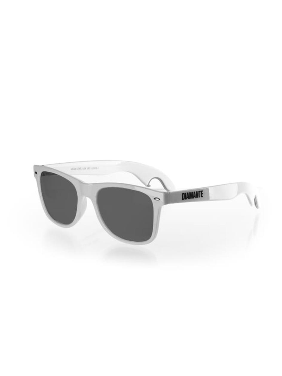 Okulary Przeciwsłoneczne Z Otwieraczem Diamante Wear Opener Białe