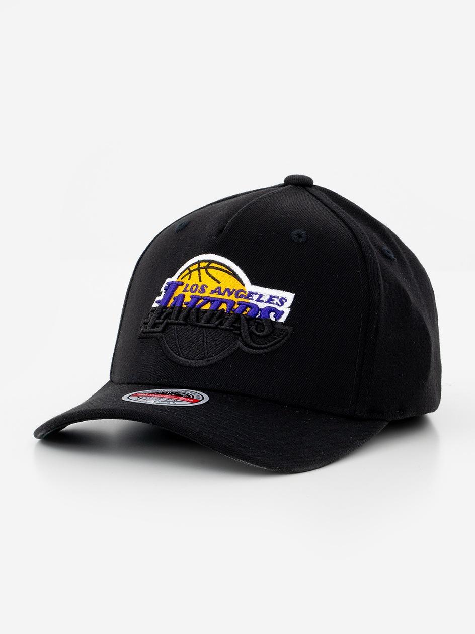 Czapka Snapback Mitchell & Ness Los Angeles Lakers NBA Black Dip Down Czarna