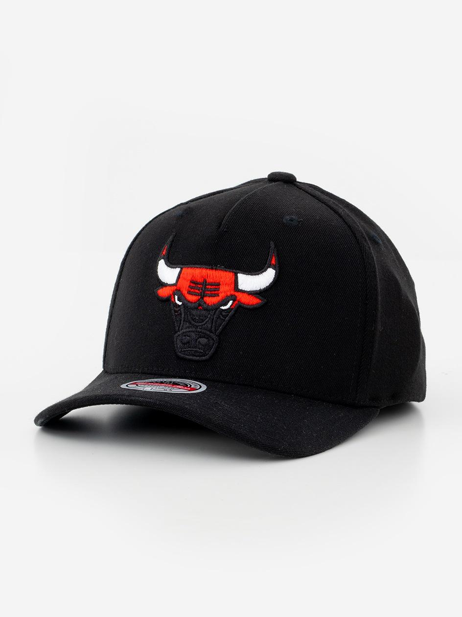 Czapka Snapback Mitchell & Ness Chicago Bulls NBA Black Dip Down Czarna