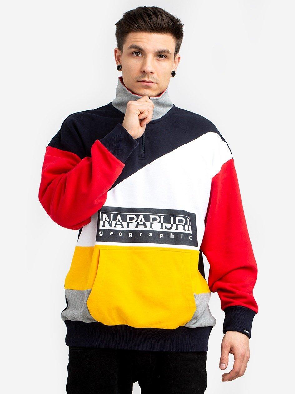 Bek Half Zip Multicolour