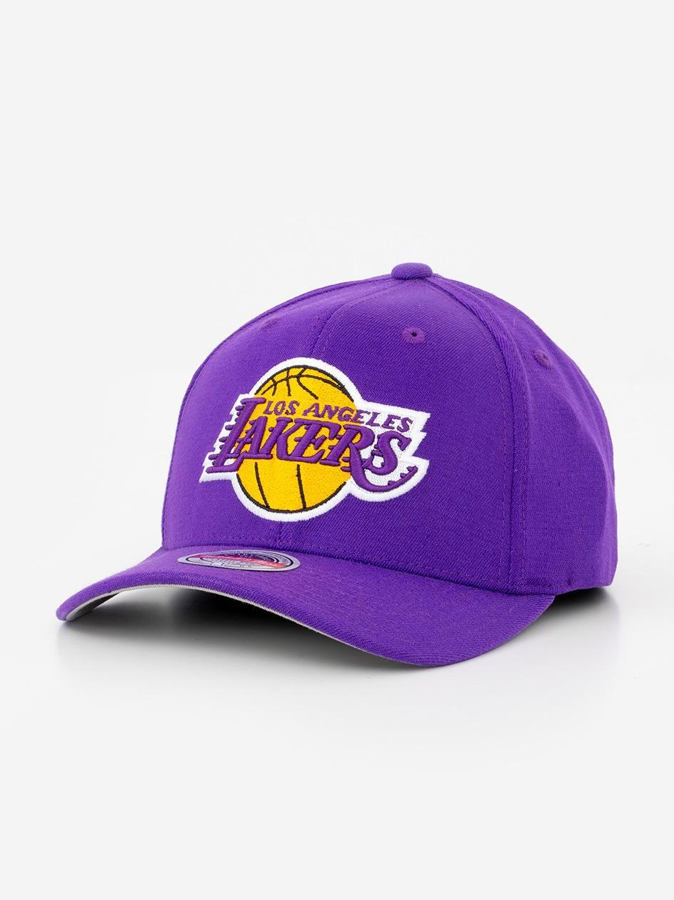 Czapka Snapback Mitchell & Ness Los Angeles Lakers NBA Ground Redline Fioletowa