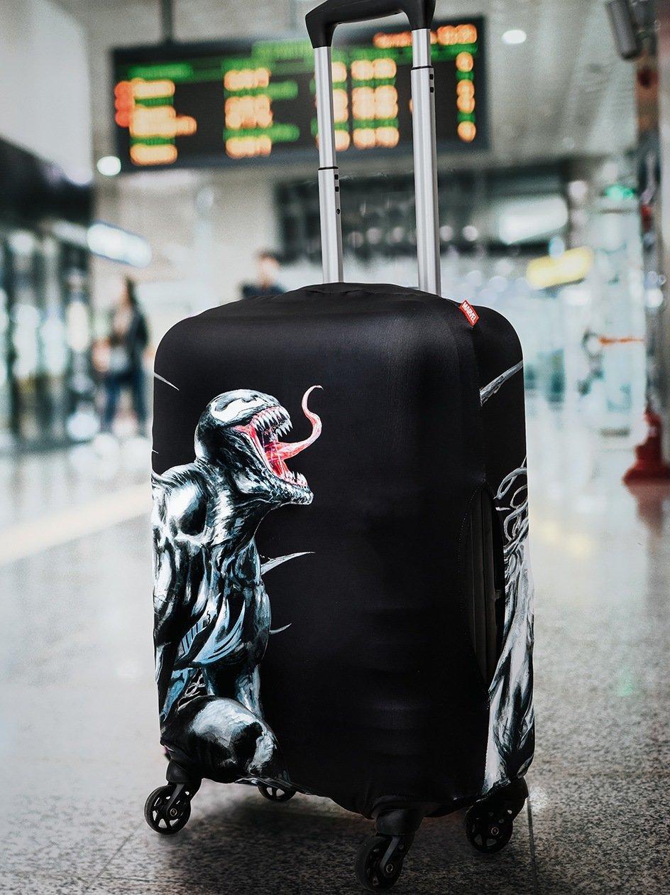 Venom Marvel Comics Awakening Suitcase Cover Black