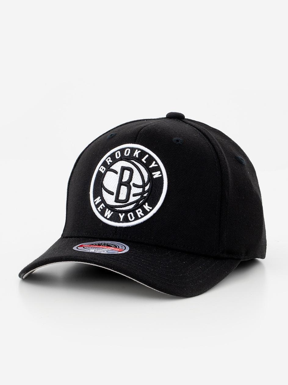 Czapka Snapback Mitchell & Ness Brooklyn Nets NBA Ground Redline Czerwona