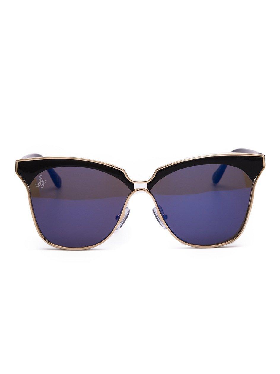 Okulary Przeciwsłoneczne  Cat Eye Czarne / Fioletowe