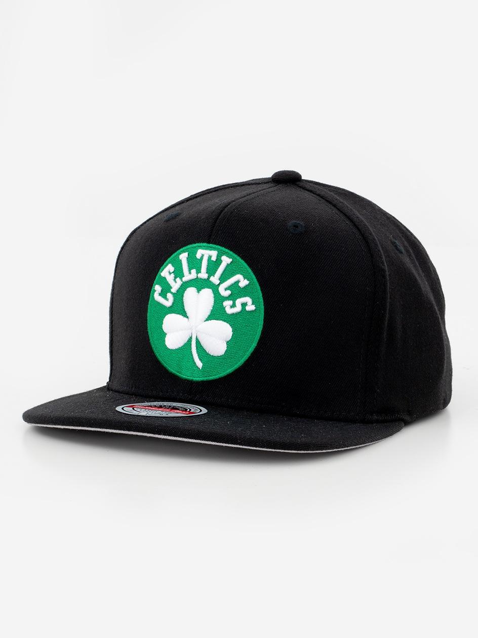 Czapka Snapback Mitchell & Ness Boston Celtics NBA Downtown Redline Czarna