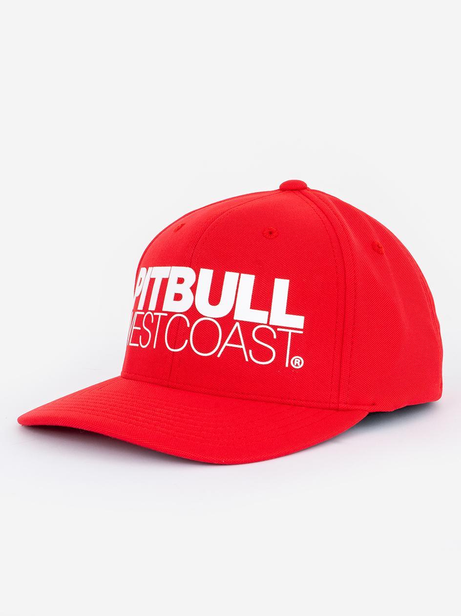 Czapka Z Daszkiem Dadhat Pitbull West Coast Seascape Czerwona