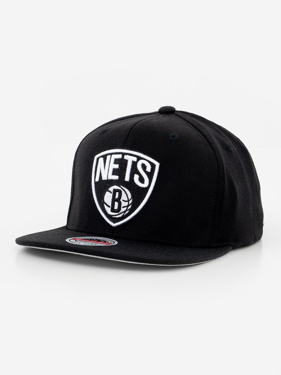 Czapka Snapback Mitchell & Ness Brooklyn Nets NBA Downtime Redline Czarna