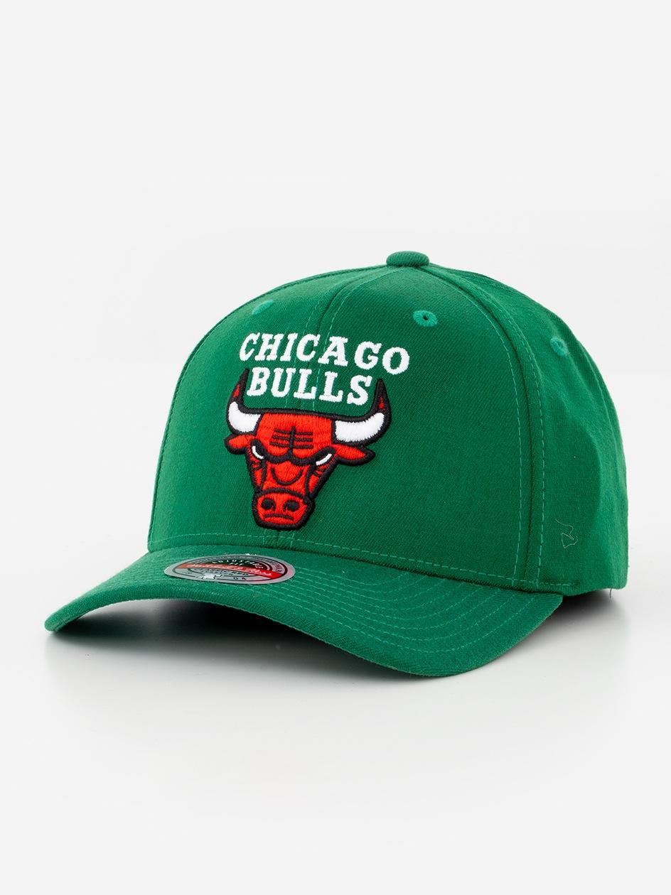 Czapka Snapback Mitchell & Ness Chicago Bulls NBA Saint Zielona