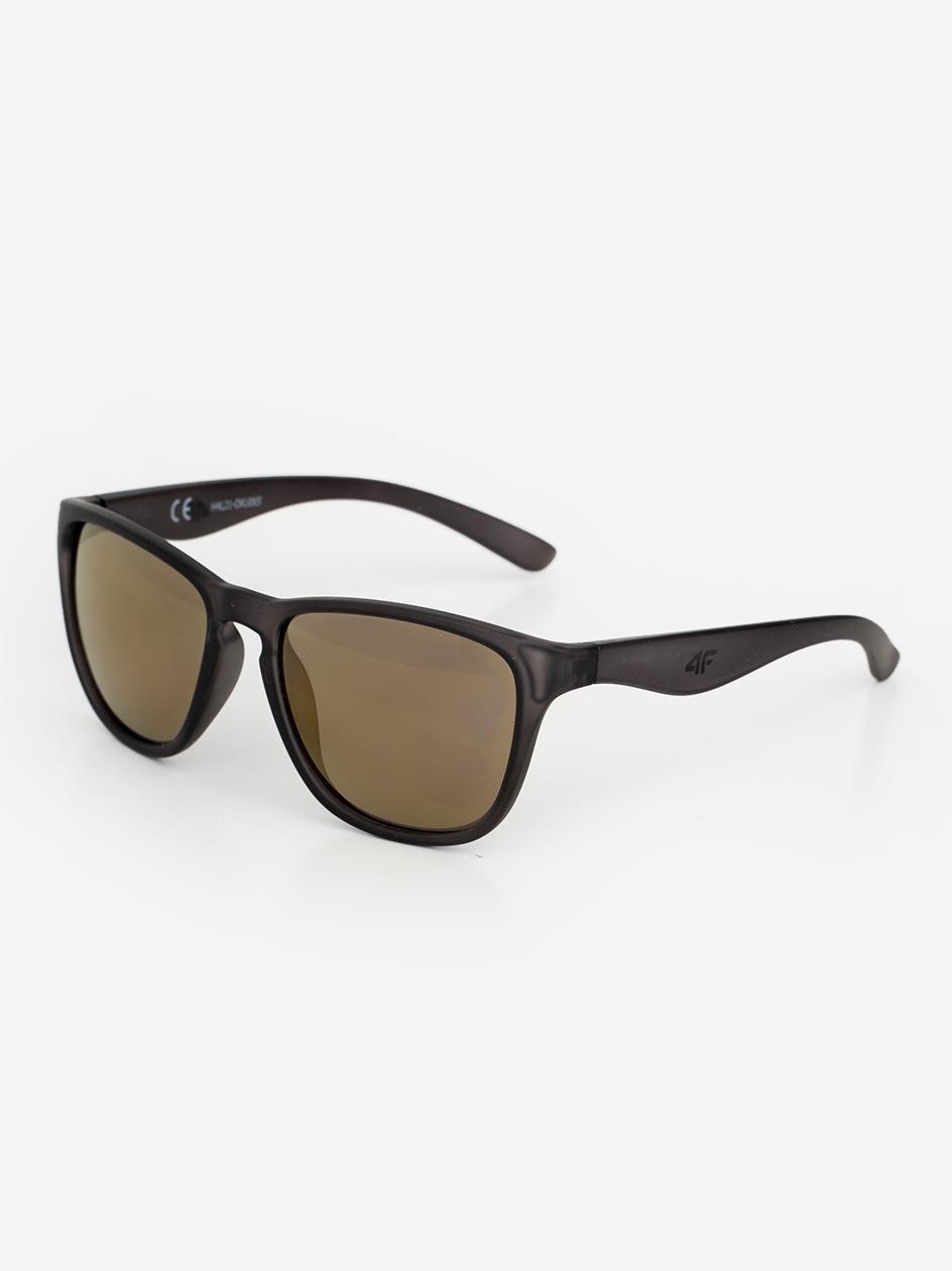 Okulary Przeciwsłoneczne 4F Modern Czarne / Żółte Lustra