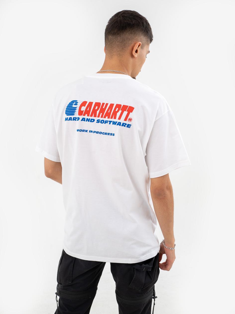 Koszulka Z Krótkim Rękawem Carhartt WIP Software Biała