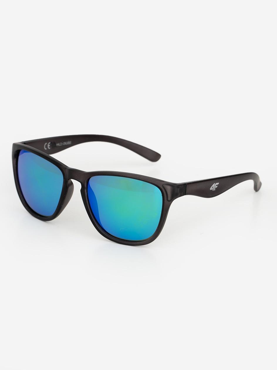 Okulary Przeciwsłoneczne 4F Modern Czarne / Petrol Lustra