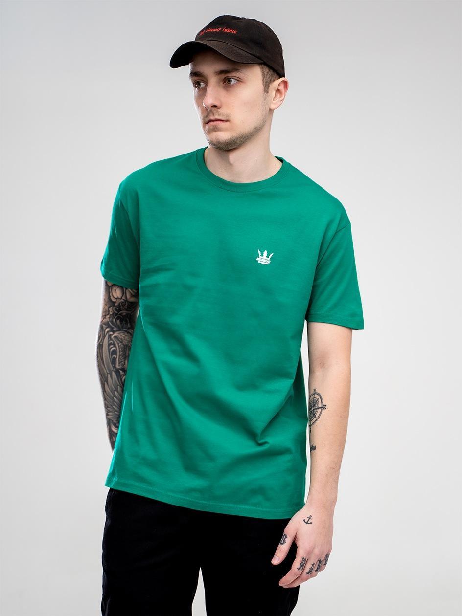Koszulka Z Krótkim Rękawem Jigga Wear Mini Crown Zielona