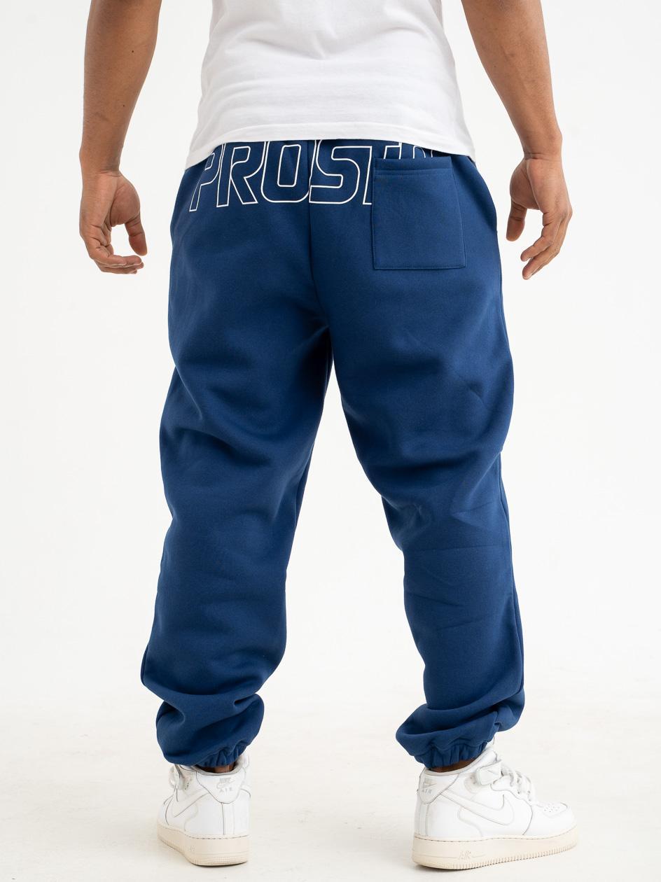 Spodnie Dresowe Prosto Stones Ciemne Niebieskie