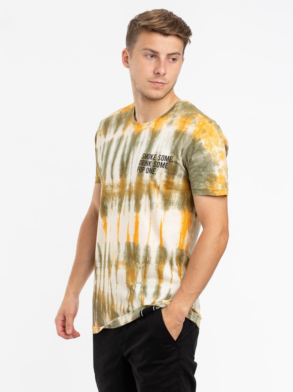 Koszulka Z Krótkim Rękawem Urban Selection Smoke Tie Dye Zielona