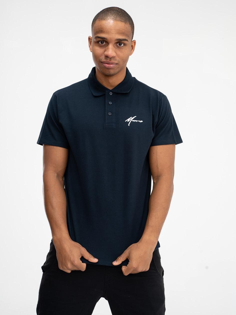 Koszulka Polo Z Krótkim Rękawem Moro Sport Mini Paris Granatowa