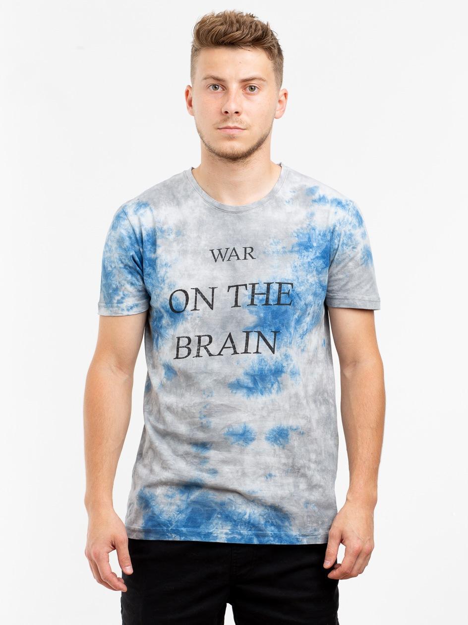 Koszulka Z Krótkim Rękawem Urban Selection War Tie Dye Szara