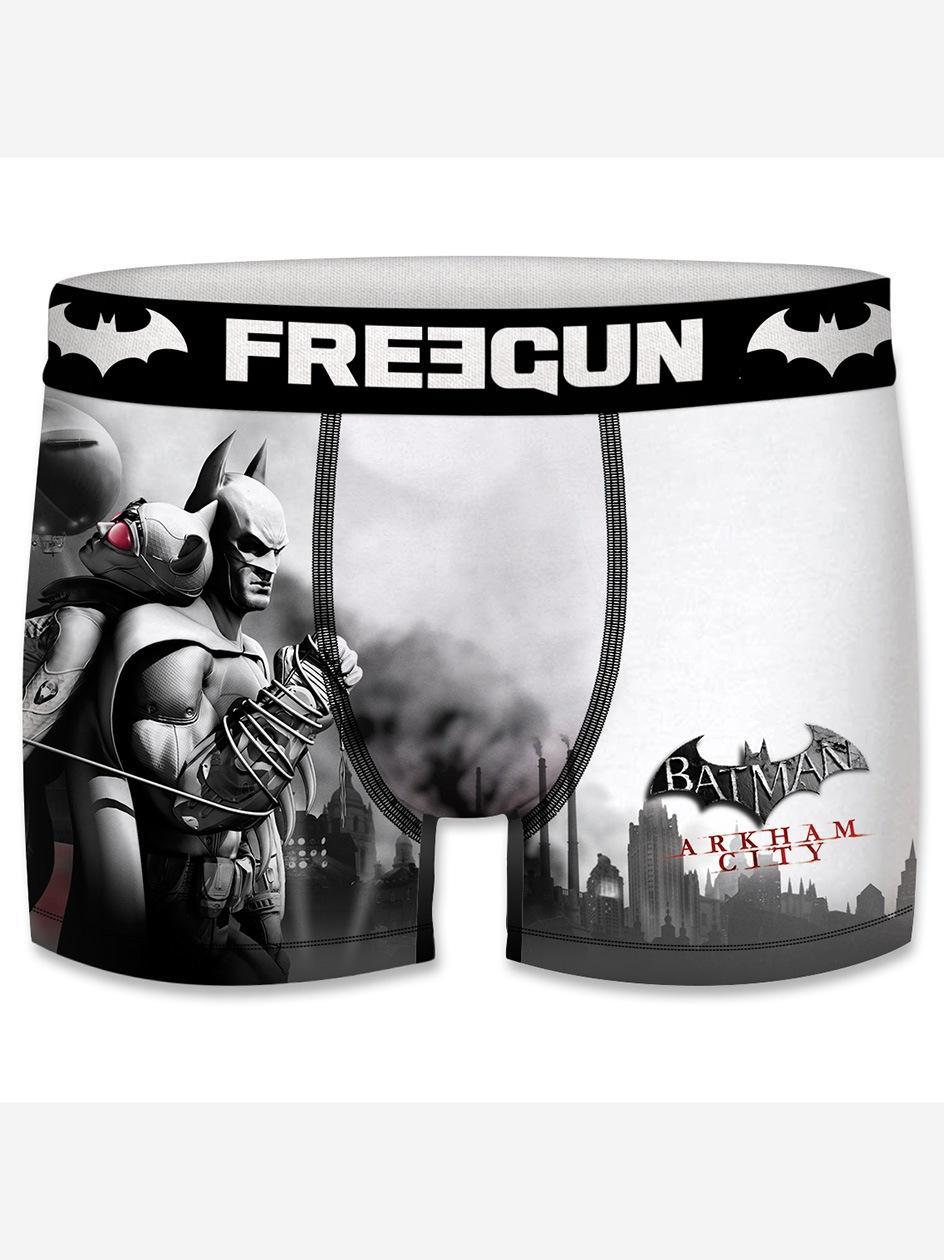 Bokserki Z Mikrofibry FreeGun Batman Arkham City Czarne
