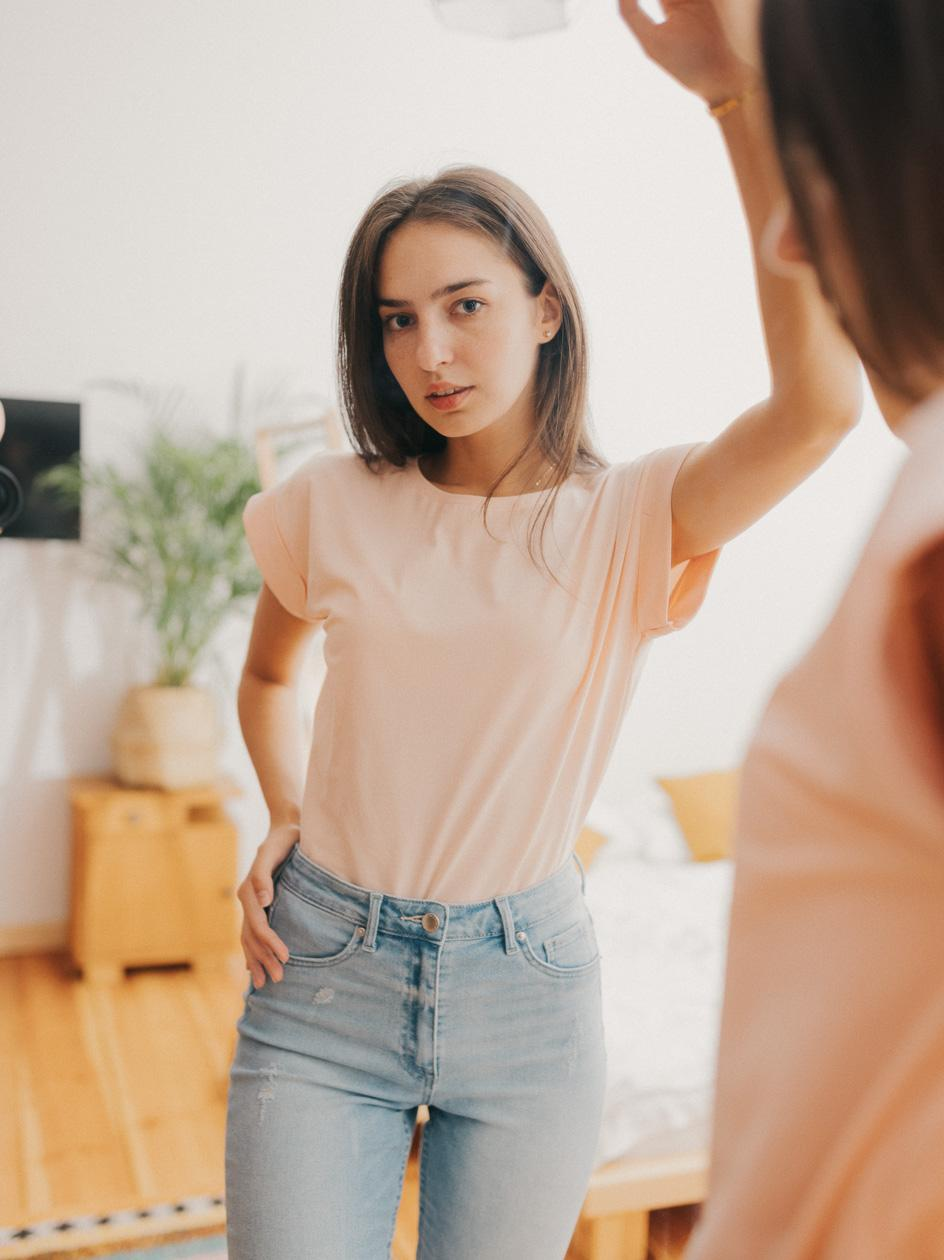 Damska Koszulka Z Krótkim Rękawem Point X Classic Jasna Różowa