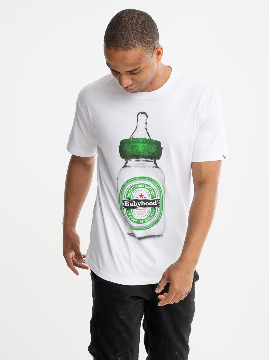 Koszulka Z Krótkim Rękawem Outsidewear BH Bootle Biała