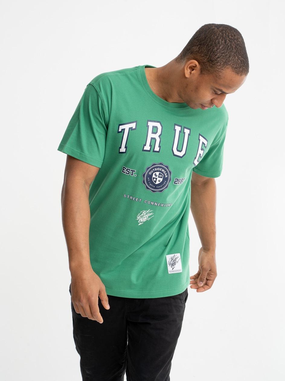 Koszulka Z Krótkim Rękawem Outsidewear True Zielona