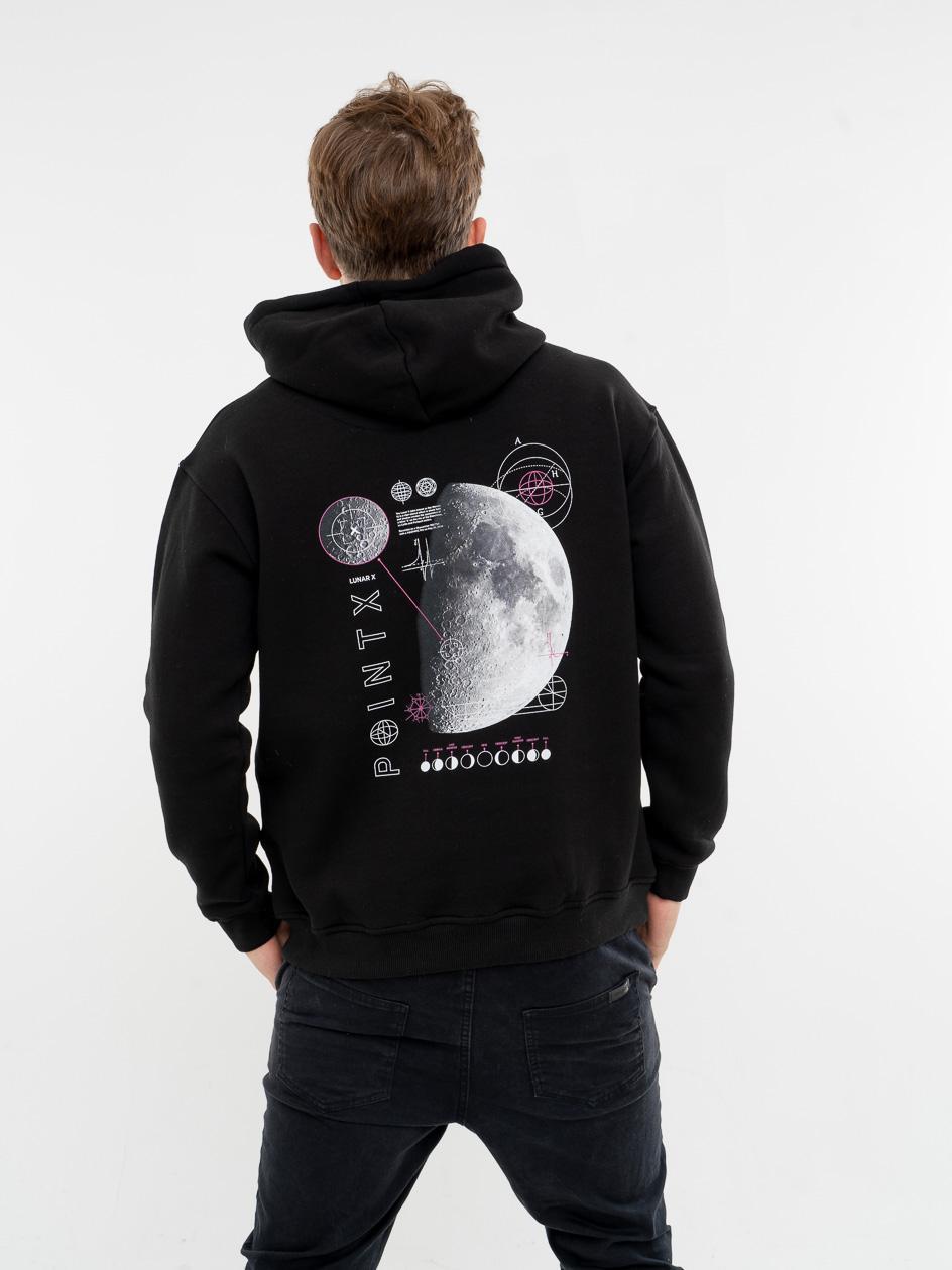 Bluza Z Kapturem Point X Lunar Czarna