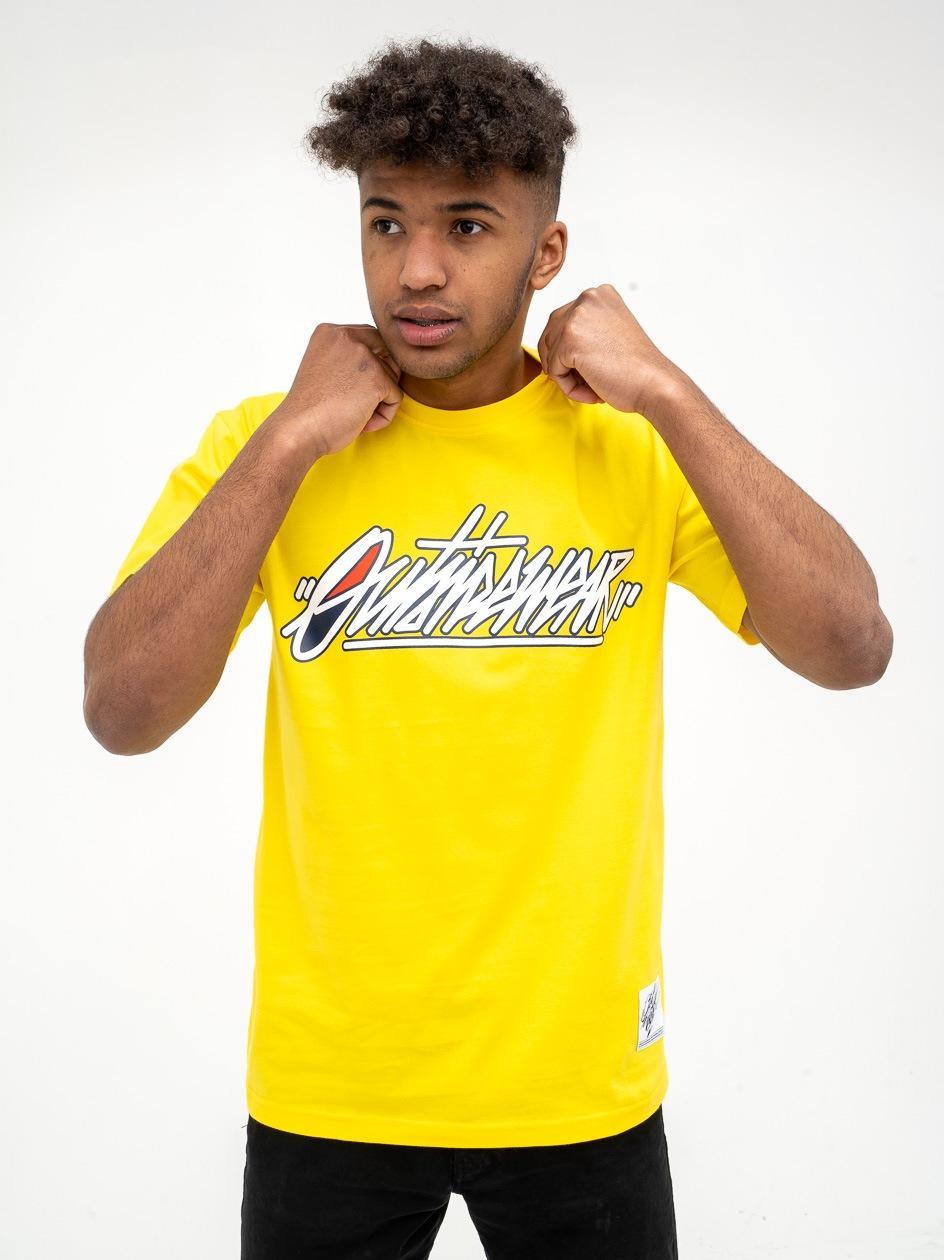 Koszulka Z Krótkim Rękawem OSW Tagz Żółta